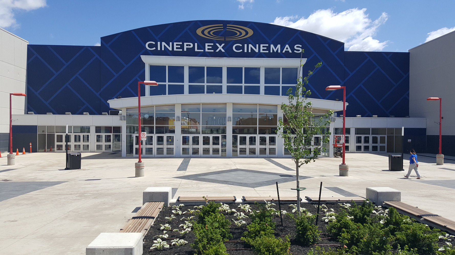 Cineplex's Natural Stone Project - New Ebony (Granite) Pavers by STONEarch